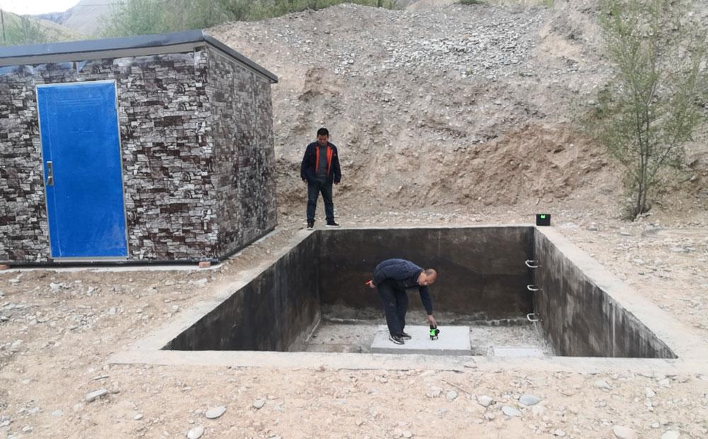 地埋式垃圾站地坑