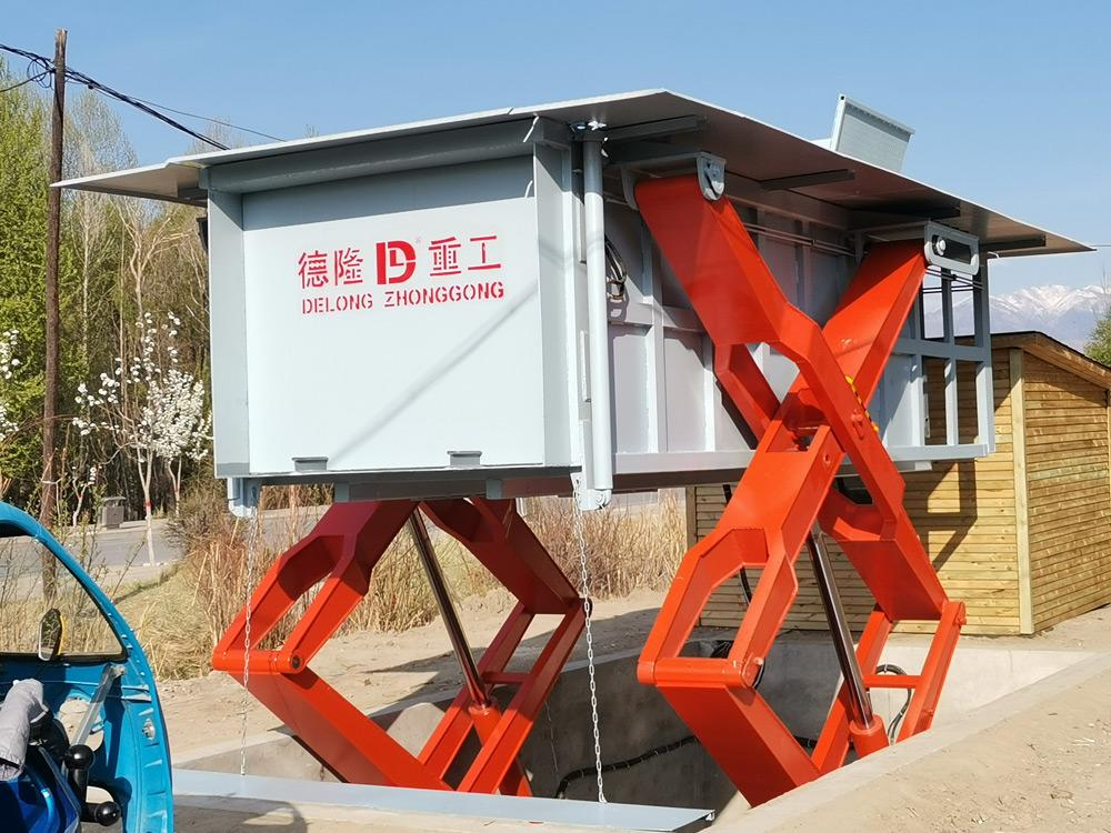 水平式垃圾中转站设备