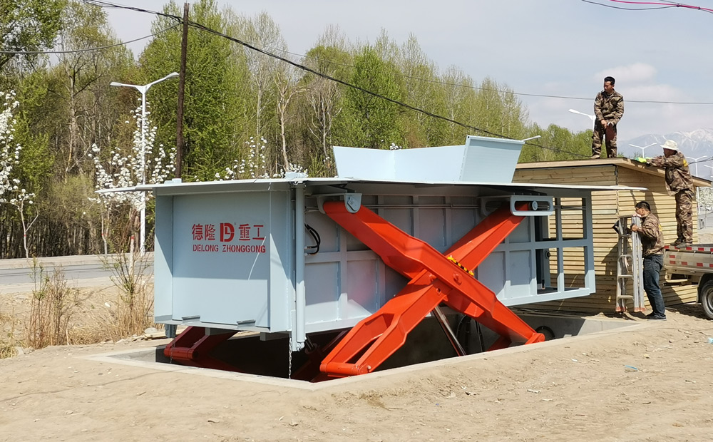 地埋式垃圾压缩站