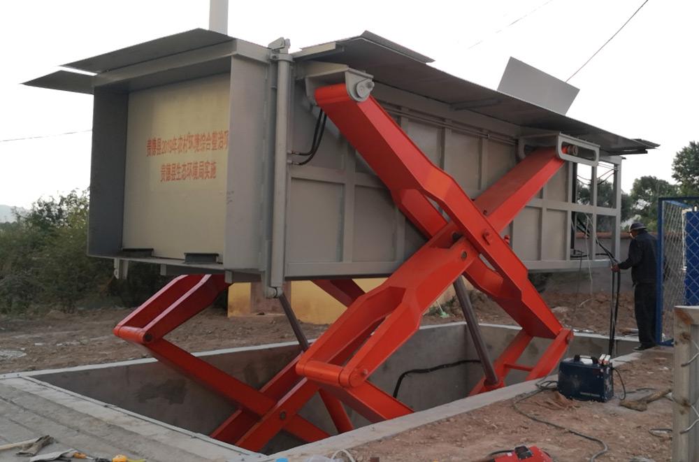 农村人居环境整治生活垃圾转运站压缩设备