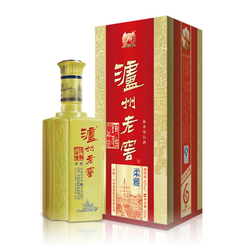 泸州老窖六年窖头曲  雅系列之柔雅 (黄).png