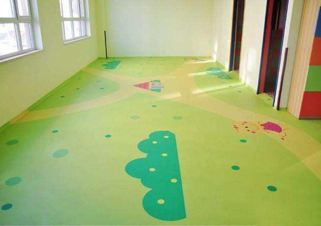 山东幼儿园教育机构PVC塑胶地板