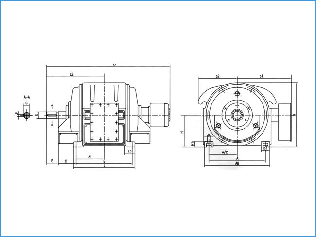 JR系列三相绕线转子异步电动机(10000V)