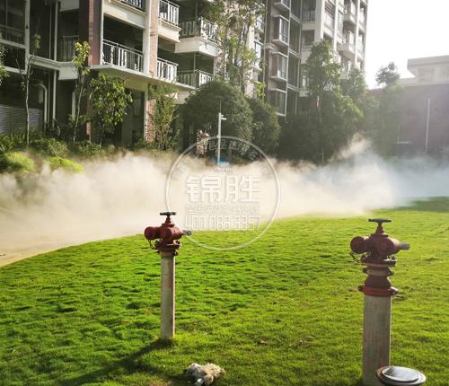 小区人造雾