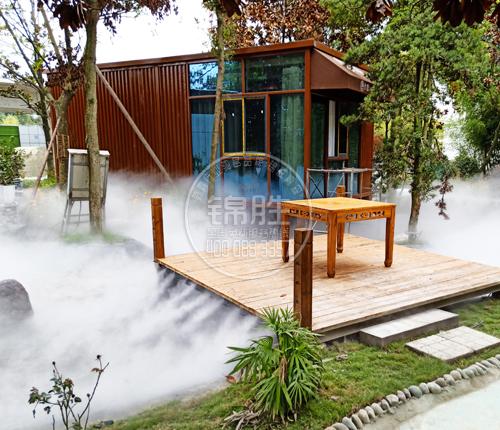 餐厅人造雾
