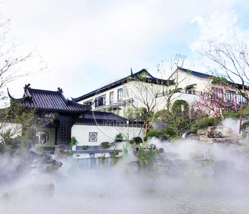 人造雾景观