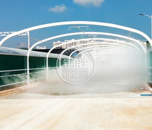 喷雾模拟雨雾