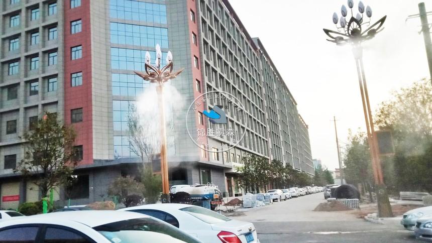 陕西铜川耀州区正大路灯杆喷雾除尘项目 (8).jpg