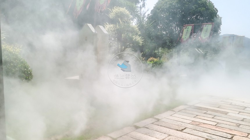 景观喷雾,人造雾景观