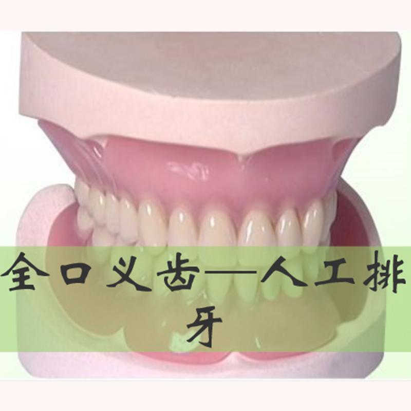 全口义齿---人工排牙