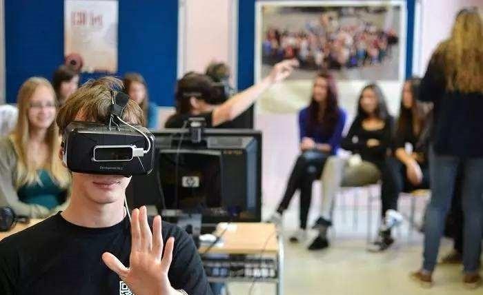 院校虚拟仿真实训室