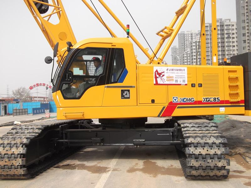 2016年XGC85中铁十局济南地铁项目首秀