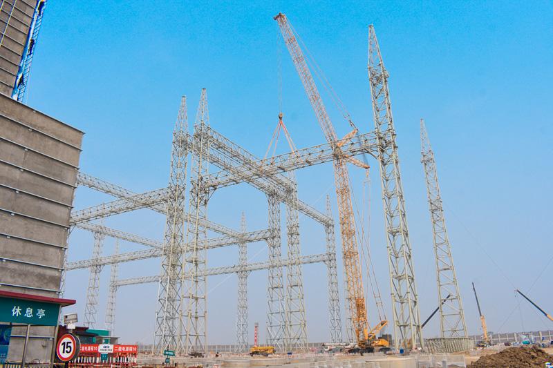 2017年QUY450北电南输山东潍坊广固换流站项目