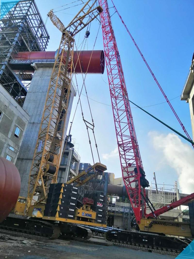 【XGC350吨、SCC4000吨】唐山凯源实业回转窑筒体安装-800.jpg