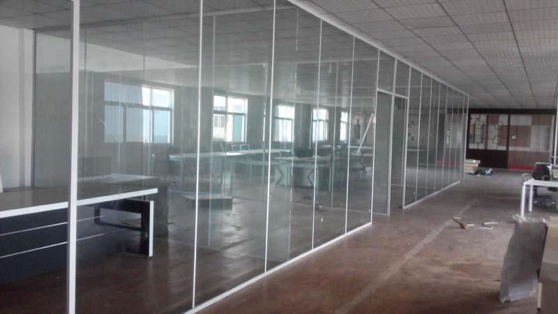 济南单层玻璃隔断