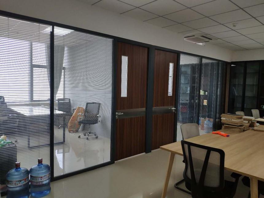 济南玻璃隔断墙,生态门