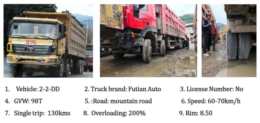 Truck information