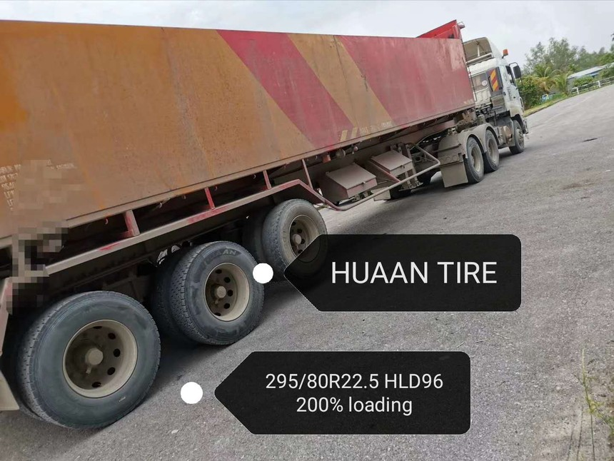 Huaantire for 200% loading capacity