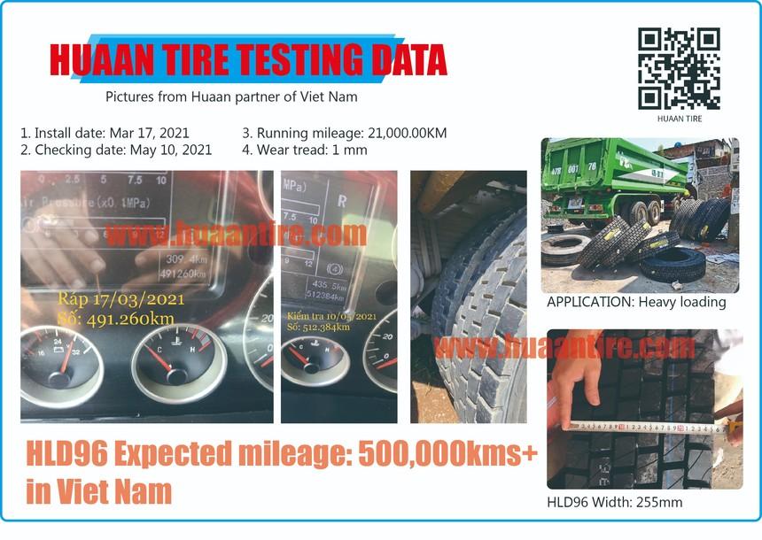 Testing data from Viet Nam