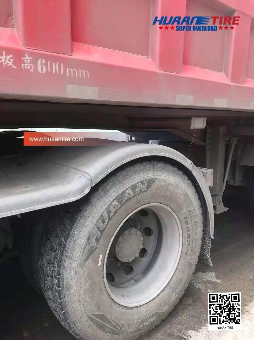Huaan tire 12R22.5 HLD96