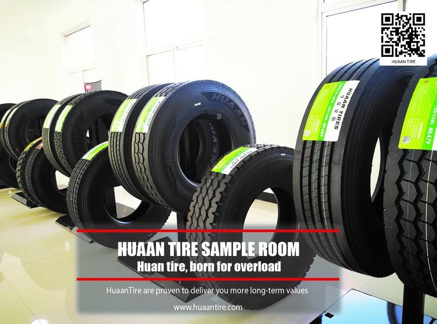 Huaan tires sample room