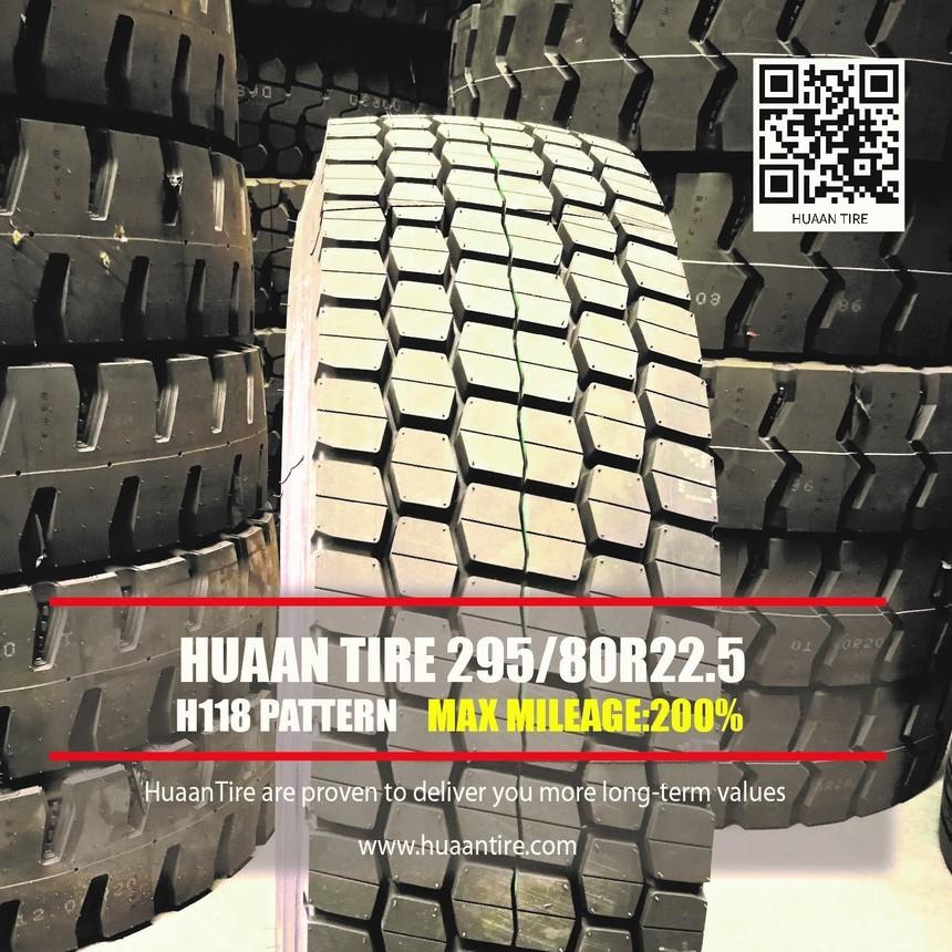 Huaan tire H118 pattern