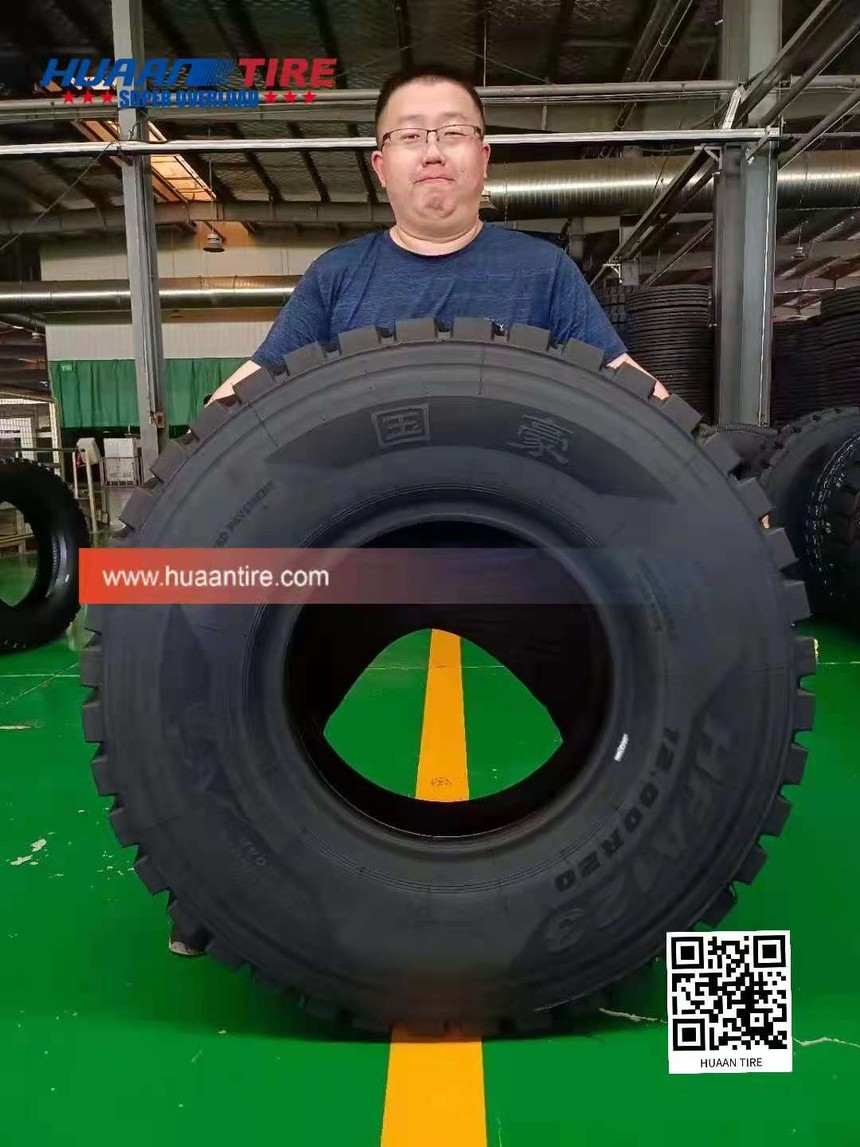 Huaan tire HF123 pattern