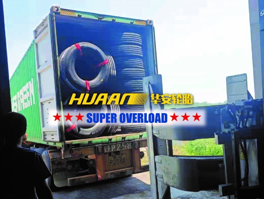 Huaan tires are delivered to overseas market