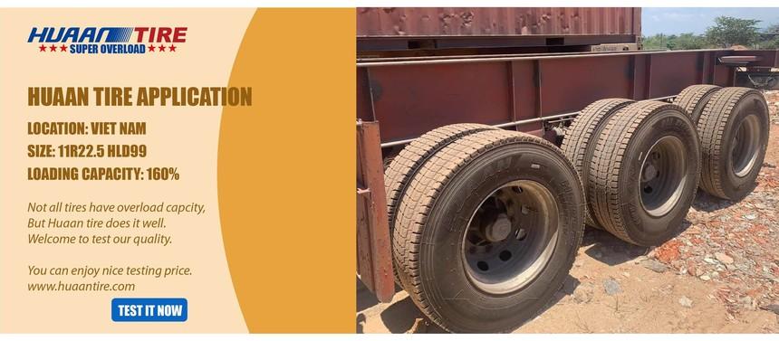 Huaan tire in Viet Nam