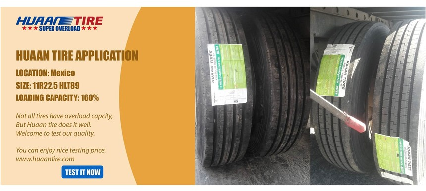 Huaan tire HLT89 in Mexico