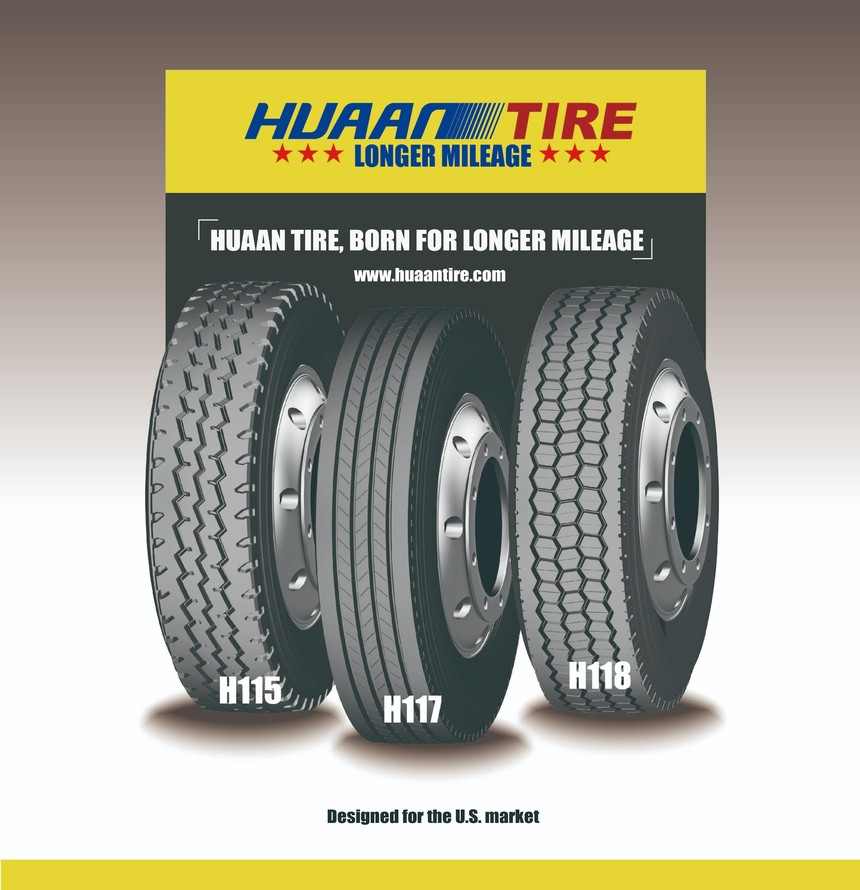 Huaan tire for U.S. market