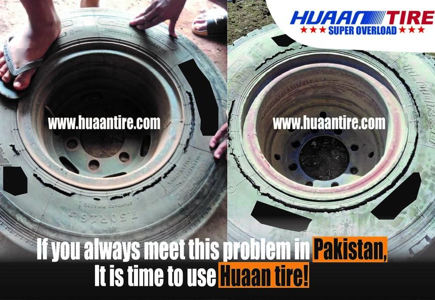 Huaan tire has higher loading capacity