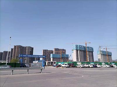 中铁建工集团章丘绣惠安置房工程项目经理部
