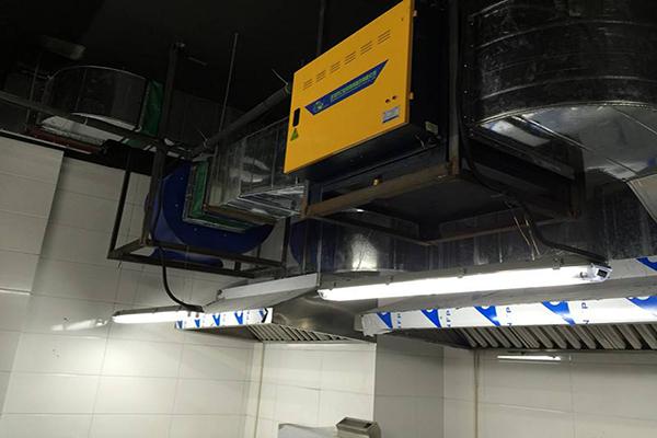 厨房油烟净化器安装注意事项