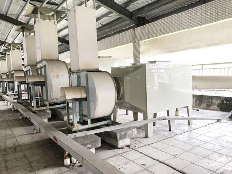 工业废气处理设备治理废气的方法