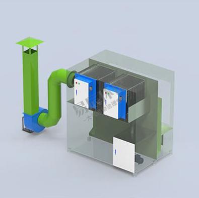 uv光氧废气处理设备结构设计