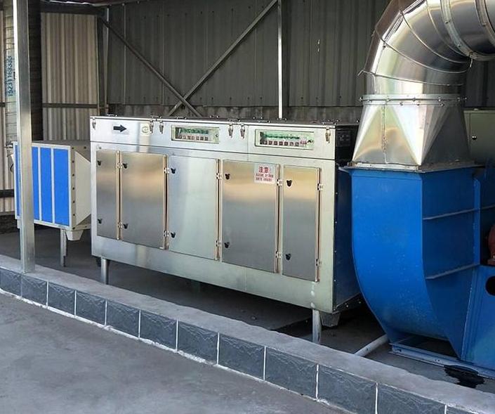 UV光解废气处理设备的工作原理是什么?1596697627977125.png