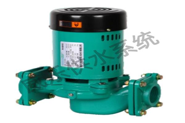威乐热水循环泵使用说明书(设置方法)