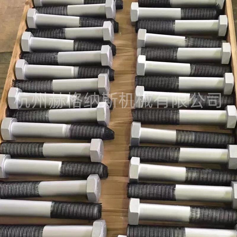 达克罗加工工艺六角螺栓表面处理