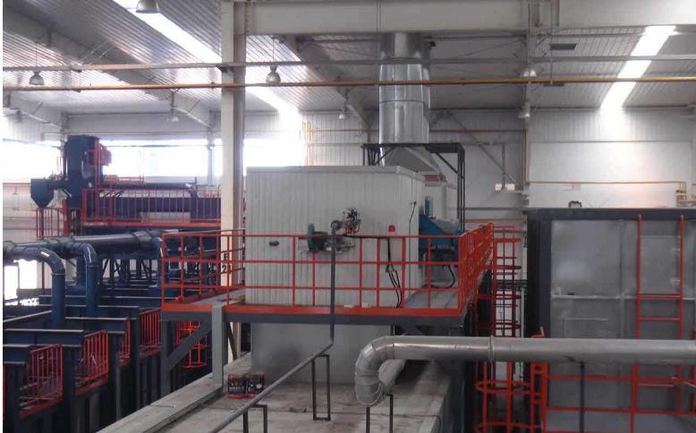 达克罗加工气炉设备