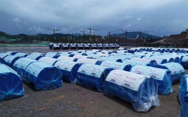 贵州德江县车厢可卸式垃圾箱