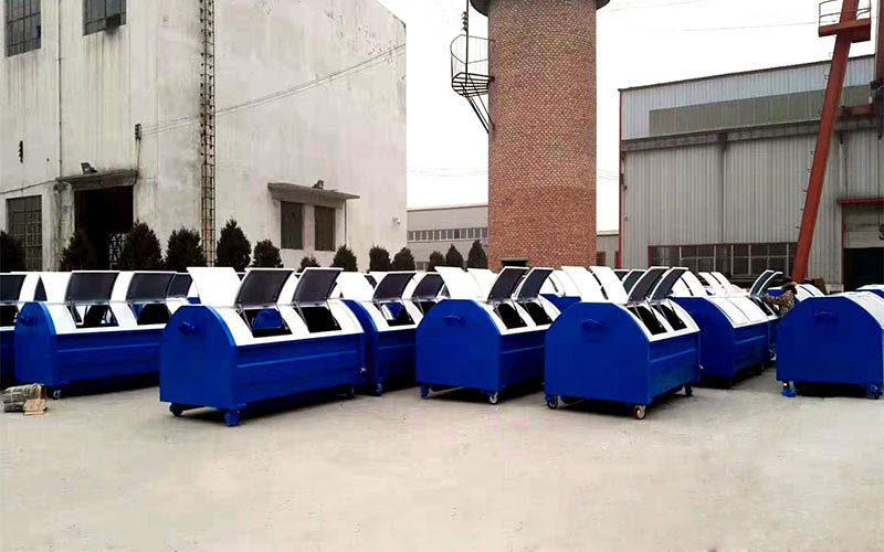 贵州威宁县环卫铁皮垃圾箱项目
