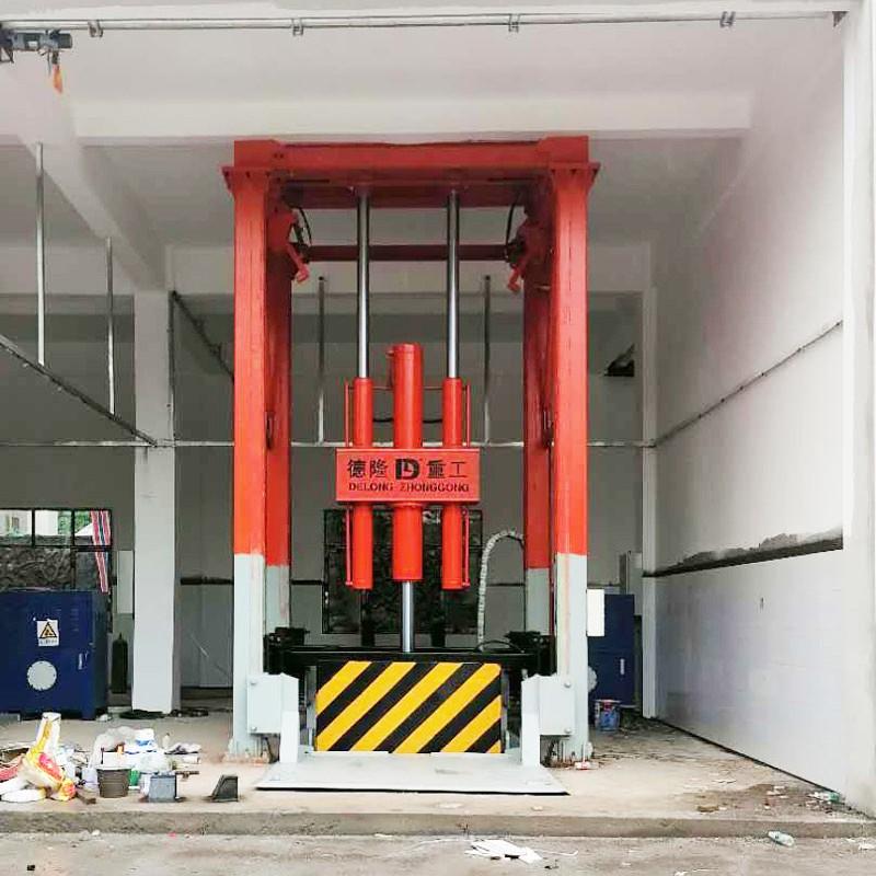 垂直式垃圾压缩成套设备