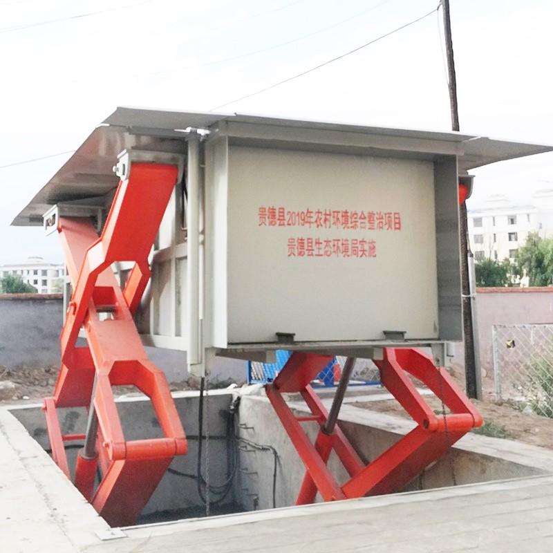 地埋水平式垃圾压缩机