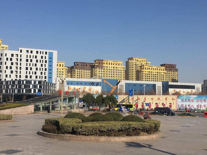 枣庄天安广场聚合聚苯板外墙保温