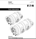 伊顿串联齿轮泵 26000型 26 系列 原装进口 骏荣智能