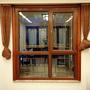 仿古實木窗