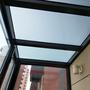 断桥铝阳光房顶玻璃