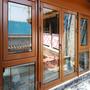 仿古铝包木门窗