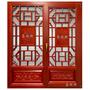中式仿古實木門